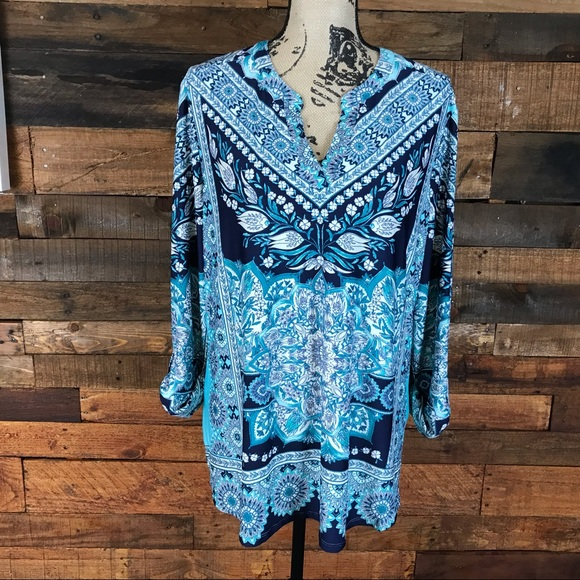 new directions Tops - ND New Directions Tunic